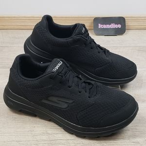 Skechers Men's Go Walk Qualify Sneakers Shoe Black